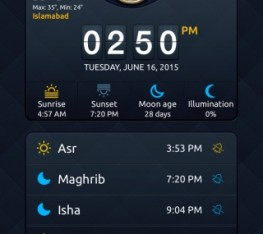 Muslim Prayer Timings iPhone