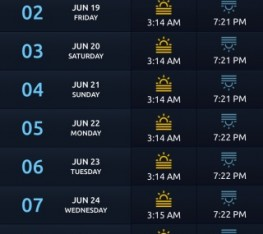 Ramadan Timings